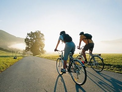 Прогулка на велосипеде здоровье и спорт